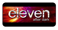 Logo for eleven after dark.